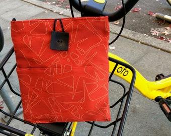 New Red Stars Cross Body Handbag