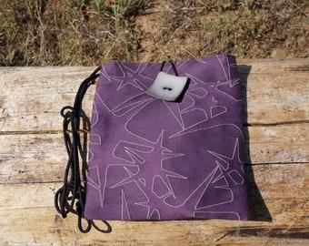 Purple Star Shoulder Bag Medium