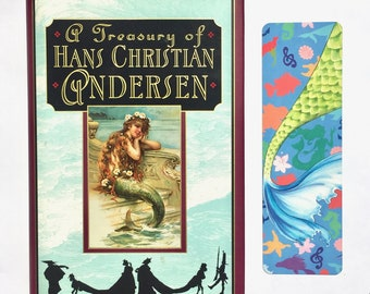 LITTLE MERMAID bookmark story-inspired faerie tale feet the little mermaid hans christian andersen fairy tale art mermaid tale bookmark