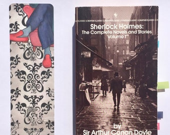 SHERLOCK bookmark faerie tale feet 221b baker street bookmark sherlock holmes john watson sherlocked bookmark