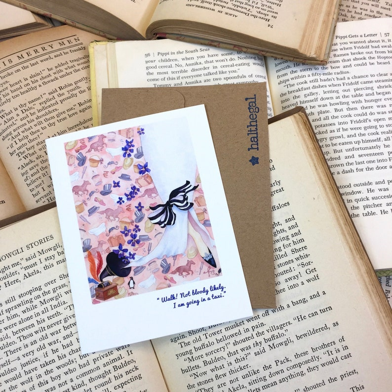 MY FAIR LADY musical broadway film blank greeting card audrey image 0
