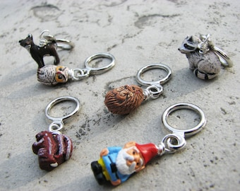 Enchanted Woodland Creatures - Non Snag Stitch Markers