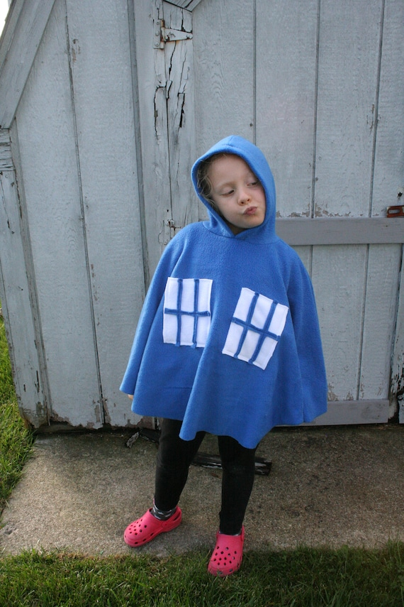 Car Seat Poncho Carseat Cover Dr Who Tardis Cosplay