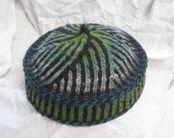 bcc703e98603a Binah Bukharan Kippah Pattern (Kufi or Pillbox Hat)
