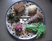 Passover Seder Plate Pattern