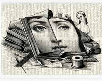 Open Book Cavalieri print