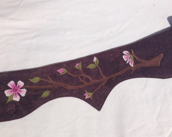 Plus size Cherry Blossom hemp pocket belt utility belt vegan