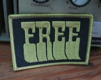 FREE  Iron On Patch from California Doom by Print Mafia®