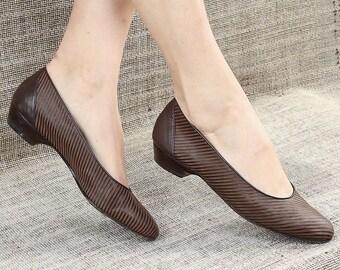 72fb899f898e6 Vintage Women's Ballet Shoes | Etsy NO