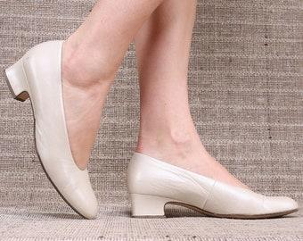 aa9e160c1d993 Cream ballet flats | Etsy