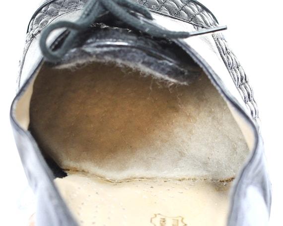 Black UK Women Heeled Shoes Quality Shoes 39 5 Toe US 6 Retro 5 Italian size 9 Up Lace Oxford Eur Cap Comfortable Manly Office Shoes Shoes qnwxgvf