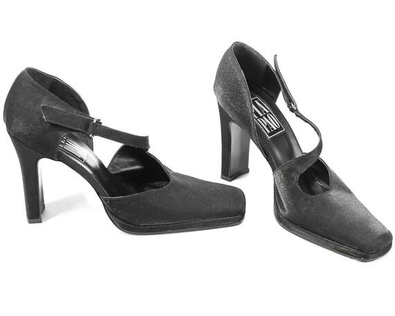 7 talons sandales 5 noir ann des Taille US 51AqFv1Z