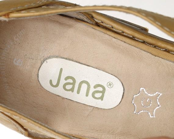 Slide Sandals 6 Shoes Three 39 Eur On US 90s Shock Flexible Leather Flats Footwear Uk Women Woven Flats Anti 5 Vintage Tone 8 Sole gwwzF0