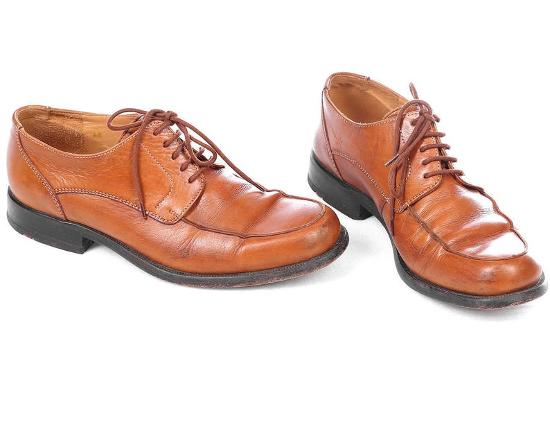 83d325cc6 Us women 9.5 Wide Fit LLOYD Oxfords 90s Real Leather Shoes