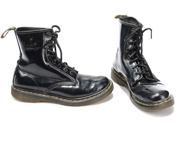 Patent US MArtens 80s DISTRESSED Eur Worn 5 Doc Dr 7 Martens Ankle Boot Combat Boots Hipster Leather Air UK 38 Well women Wair 5 vqUr0wxnvp