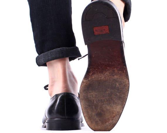d Derby 5 Brogues mariage hommes chaussures US Cap Toe 8 Oxford noir 80 s qOwftA7