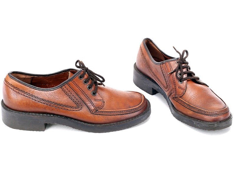 acbb5f4bcb75 US men 8.5 Platform Shoes Men s 70s Retro Oxford Shoes
