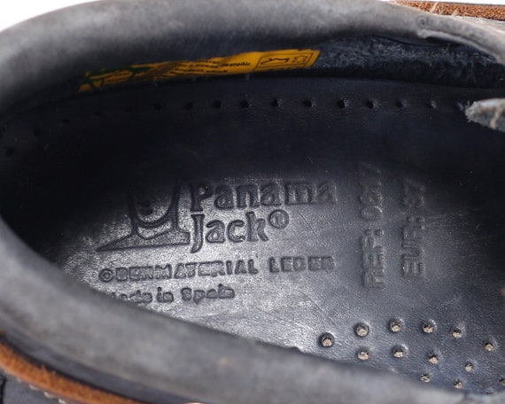 Jack US Shoes 37 UK Sailing 5 Shoes women EUR Blue Boat Shoes Casual Grey Deck Gift Leather Footwear 80s Pale 6 Panama Girlfriend 4 Vintage arzwqBa