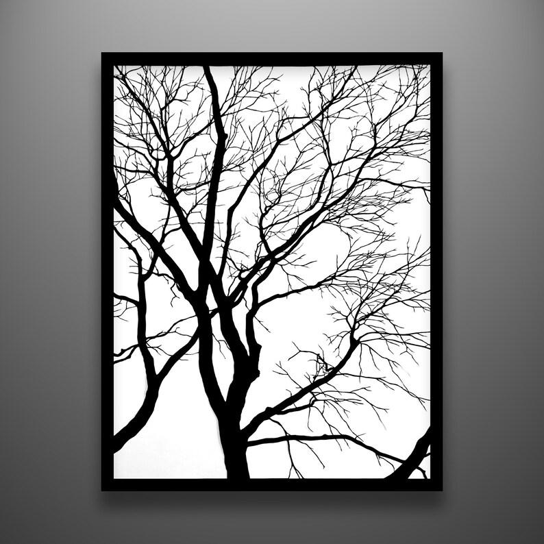 Papercut Hawthorn 18x24 framed original hand-cut paper image 0