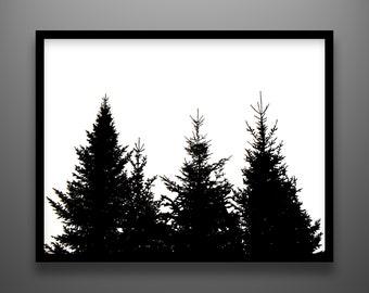 "Papercut, Tree Family, 24x18"" framed original hand-cut paper art"