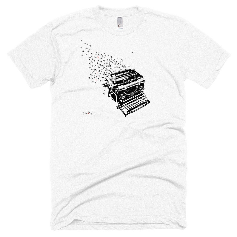UNISEX T-shirt for writers readers and book lovers alike. image 0