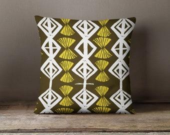 Anissa Pillow block print design pillow - choose from 5 colors