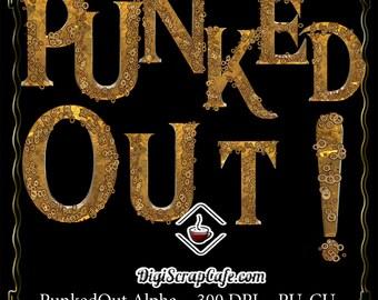 PunkedOut Steampunk Digital Alpha CU