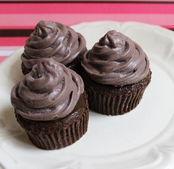 Cupcake chocolat de fondant au chocolat - boulangerie au savon, savon parfumé, Cupcake savon, savon alimentaire, nouveauté salle de bain, savon gâteau, les enfants de bain savon, cadeau ADO