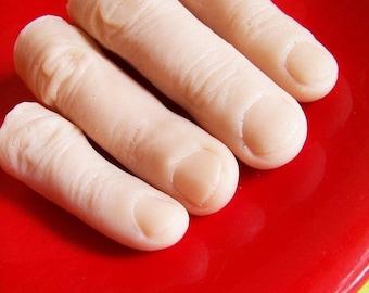 Creepy Finger Soap Set - Finger Soap, Gag Gift, Novelty Soap, Watermelon Soap, Prank Soap, Scary Soap, Creepy Bath, Walking Dead Gift