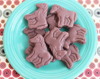 Horse Soap - Chocolate Soap, Animal Soap, Farm Soap, Soap Favors, Wedding Favors, Kids Soap, Horse Lover, Hostess Gift, Gift For Her, Ranch