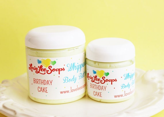Whipped Body Butter Birthday Cake Lotion