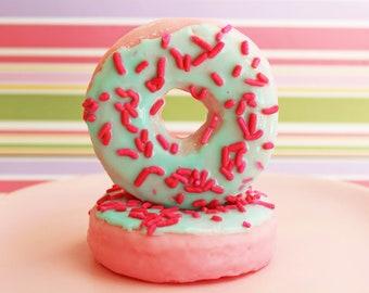 Doughnut Soap Unicorn Cotton Candy - Donut Soap, Food Soap, Sprinkle Soap, Soap Favors, Donut Party Favor, Novelty Soap, Fake Food Soap, Spa