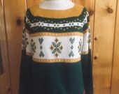 Cute Women 39 s vintage 1970 39 s Jcpenny boho sweater. Size medium