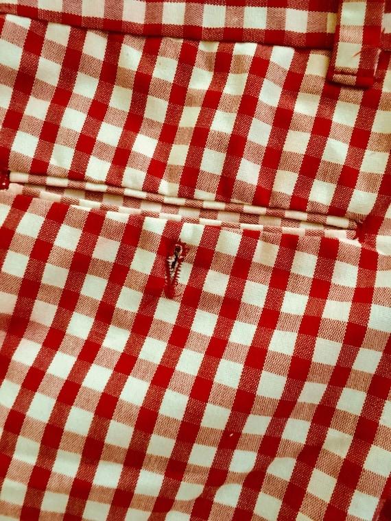 1960 ' ou s vintage sears shorts à carreaux pour homme ou ' femme taille m 1ca17e
