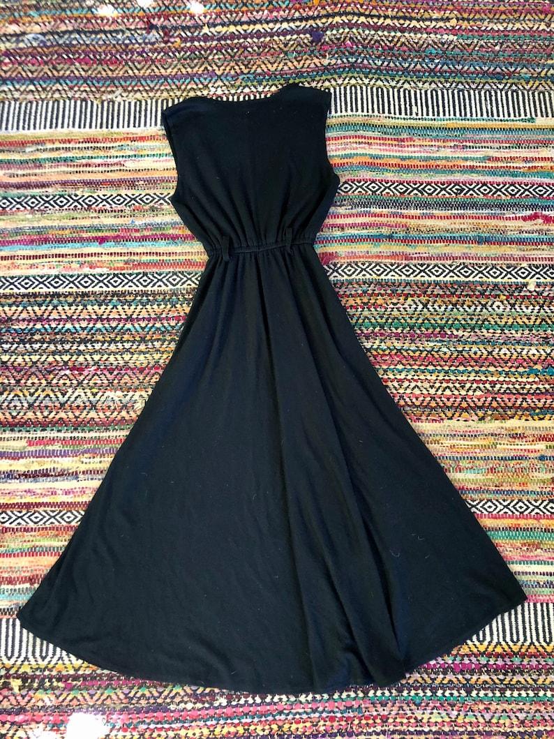 Rad 1980\u2019s90\u2019s vintage wool safari maxi dress women\u2019s size mediumlarge