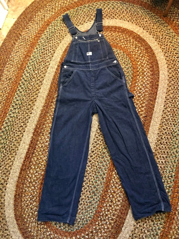 Killer vintage 1960's Lee Sears unisex overalls. S