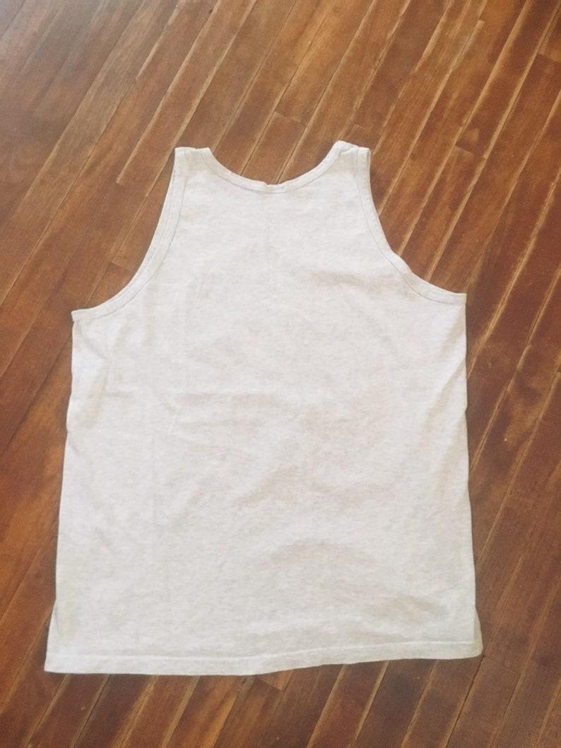 Size large Vintage 1990/'s unisex muscle tank top
