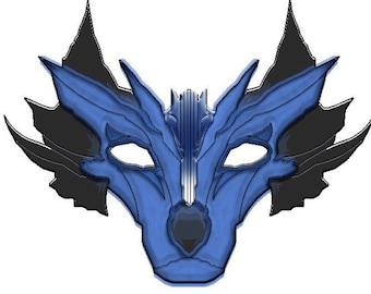 RESERVED for JKyle... Custom leather mask