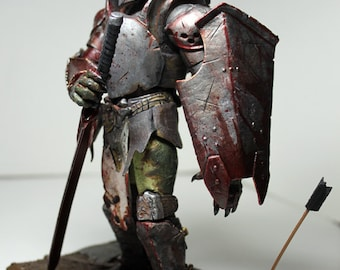 "CUSTOM 7""  PREDATOR of Antioch Knight Articulated Action Figure NECA McFarlane Style"