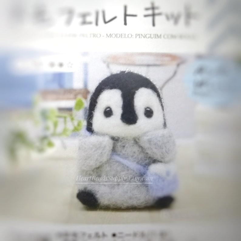 Dimensions Penguin Felt Animals Needle Felting Kit 2.5 x 2.5