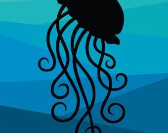 Jellyswirl  - Medium or Small Art Print