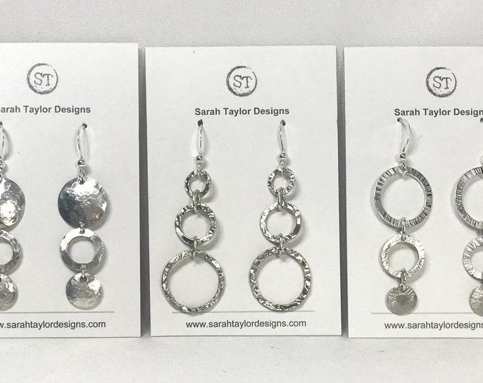 Triple Loop Earrings