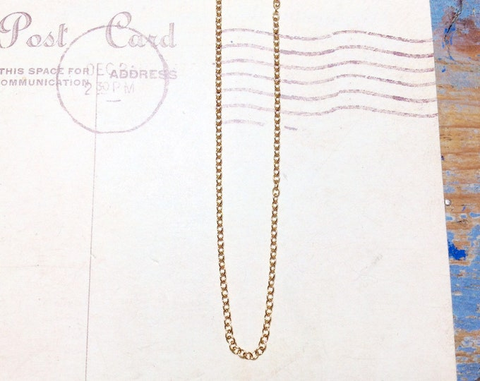 Dainty gold-filled chain