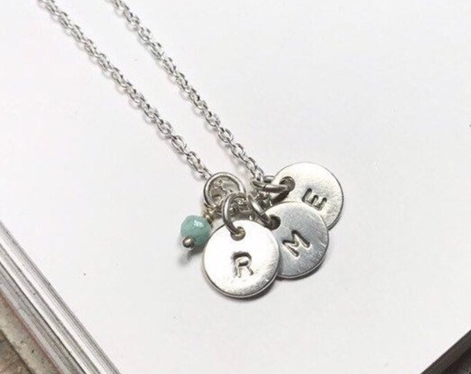 Little Initials Necklace