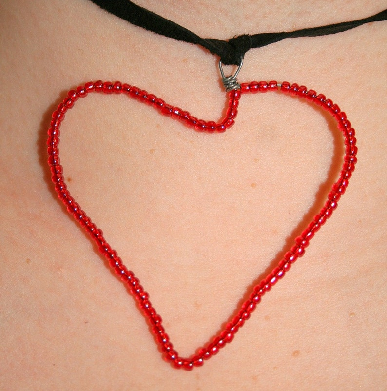 Red Heart Pendant image 0