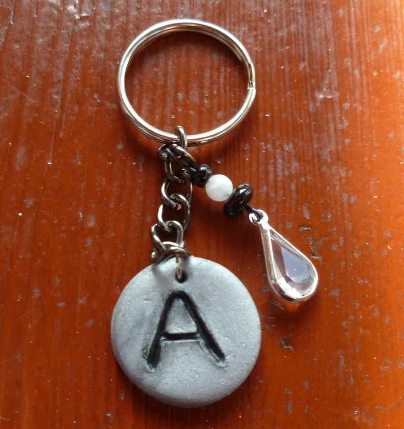 Intial A Keychain image 0