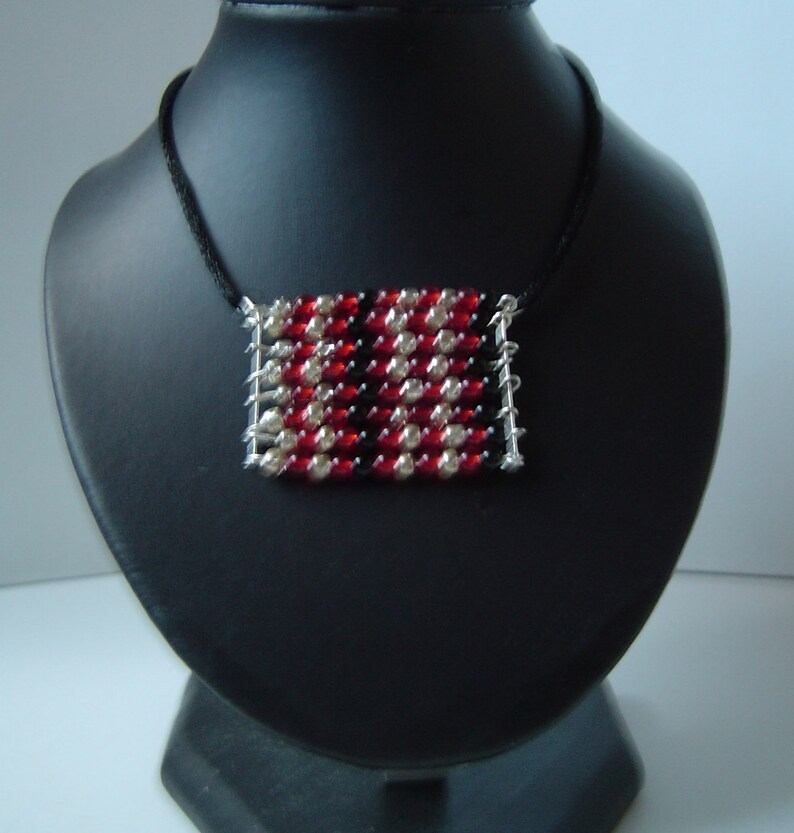 Vampy Block Pendant Necklace image 0