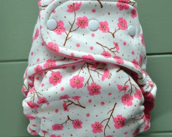 Blossoms OS Fitted Cloth Diaper