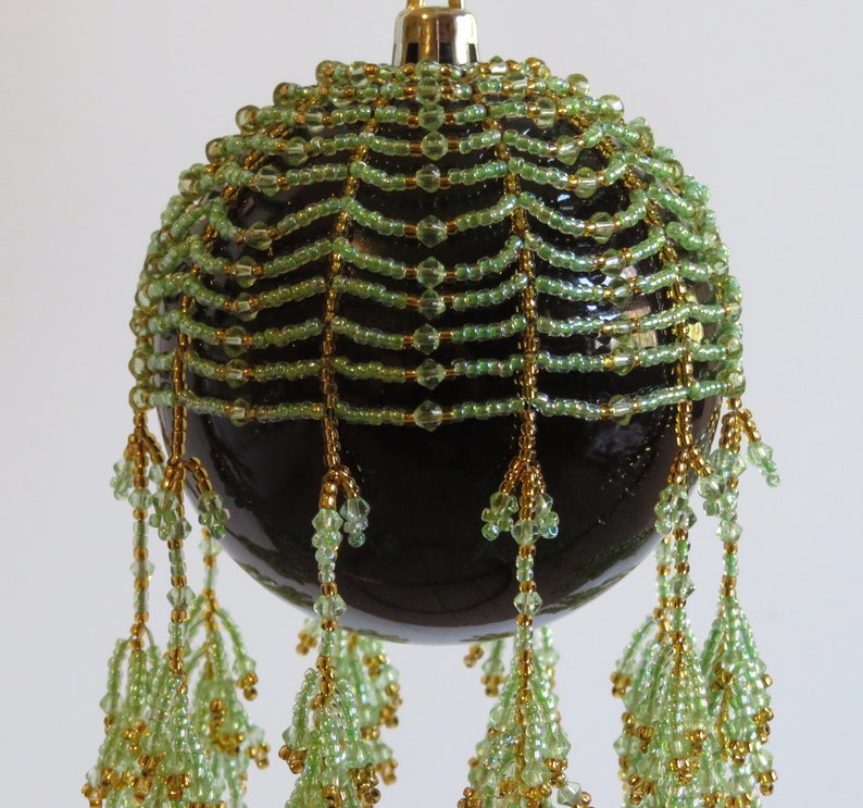 Ornament CoverDrape-Seafoam Coral