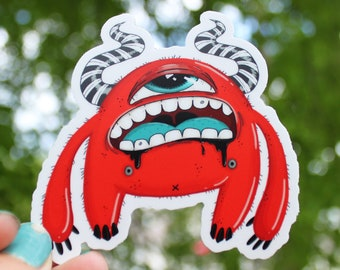 Red Guy Stickers